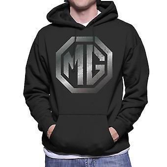 MG Chrome Logo British Motor Heritage Men's Moletom Encapuzado