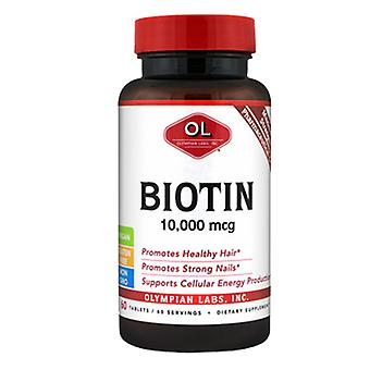 Olympian Labs Biotin, 10000 mcg, 60 Tabs