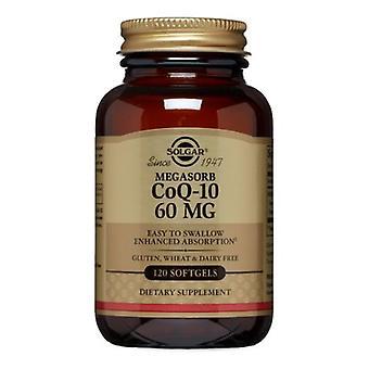 Solgar Megasorb CoQ-10, 60 mg, 120 S Gels