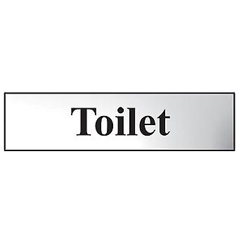Scan Toilette - poliert Chrome Effect 200 x 50mm SCA6051C