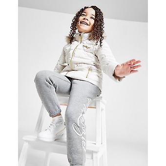 New McKenzie Girls' Mini Sadie Jacket White