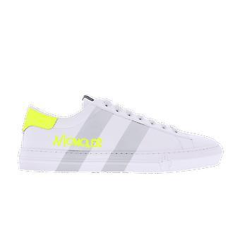 Moncler Montpelier heijastava raidat Valkoinen 4m7124002s7z004 kenkä