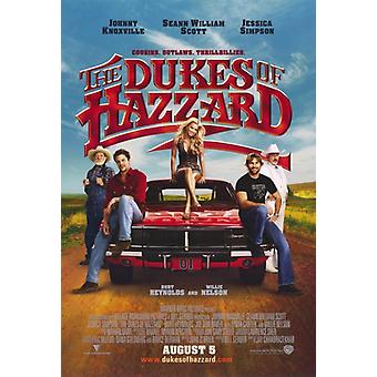 The Dukes of Hazzard Movie Poster Print (27 x 40)