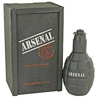 Arsenal Black By Gilles Cantuel Eau De Parfum Spray 3.4 Oz (men) V728-440204