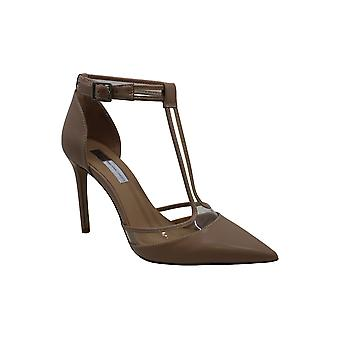 INC International Concepts Womens Kaeley Pointed Toe T-Strap Classic Pumps