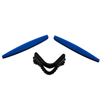 Replacement Rubber Kit for Oakley M Frame Series Earsocks Nose Pad Blue Black Insert Accessories by SeekOptics