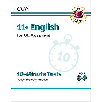 Nye 11 + GL 10-minutters tests: engelsk-Ages 8-9 (med online udgave)