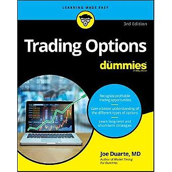 Trading Options Fd 3e For Dummies Business  Personal Finance