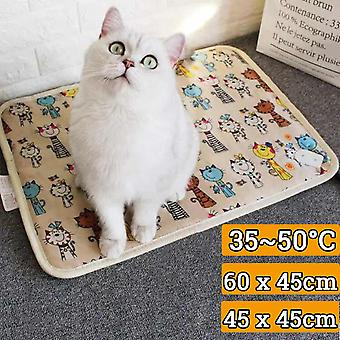 Pet Electric Heater Mat, Heating Pad, Blanket Seat For Cats Dogs