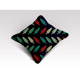 Abstrakti lehtikuviotyyny/-tyyny
