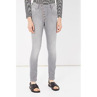 Grey Jeans Please Woman