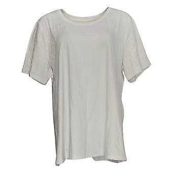 アイザック・ミズラヒライブ!女性&アポスのトップピマコットンTシャツ白A379429