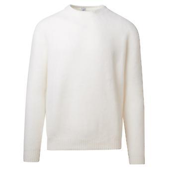 Eleventy B76magb47mag0b06201 Men's White Wool Sweater