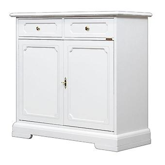 White sideboard 2 Doors 2 Drawers