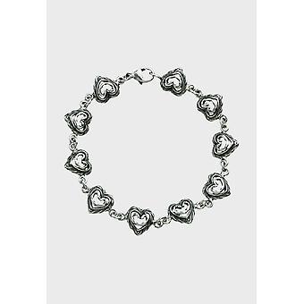 Kalevala المرأة قلب المرأة من البيت الفضية 256500010 -- طول 185 مم