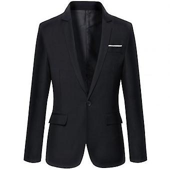 Business Blazers Spring Autumn Formal Mens Coat Fashion