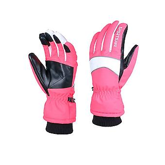 Ski Gloves,waterproof Ski Gloves, Snowmobile Cold Weather Gloves For Unisex