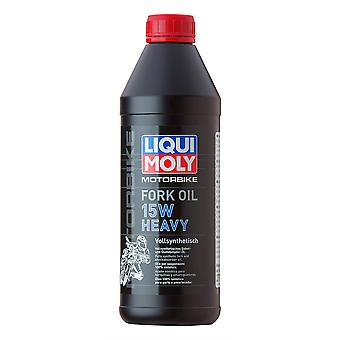 Liqui Moly Motorcycle Motorbike Heavy Fork Oil 15W 500mL