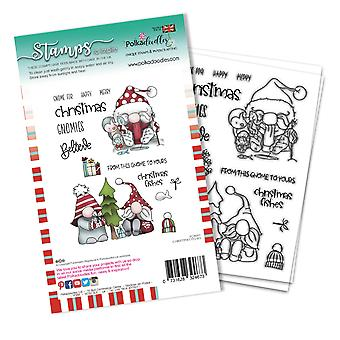 Polkadoodles Christmas Fishes Clear Stamps