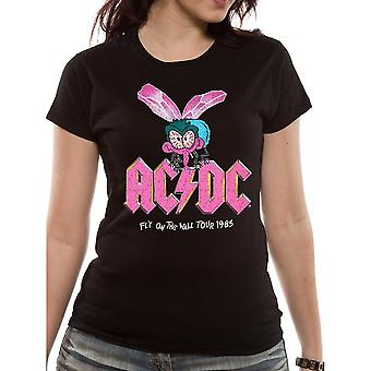 AC/DC Unisex Adults Fly On The Wall Design T-Shirt
