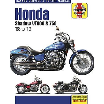 Honda Shadow Vt600 amp 750  88 to 19   Model History  PreRide Checks  Wiring Diagrams  Tools and Workshop Tips by Editors Of Haynes Manuals