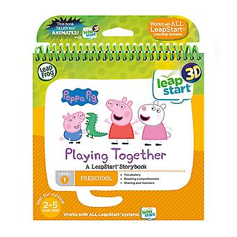 Leapfrog leapstart nursery: peppa pig story book (3d enhanced) peppa pig 3d