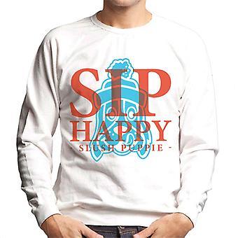 Slush Puppie Sip Happy Men's Sweatshirt