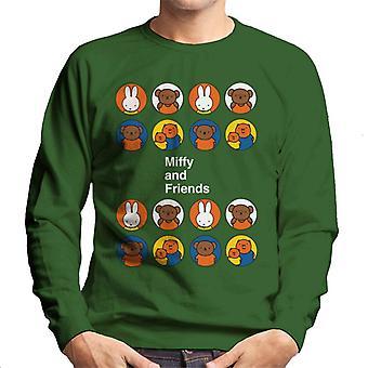 Miffy And Friends Men's Sweatshirt