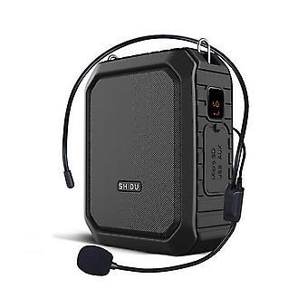 Tragbarer Sprachverstärker Drahtloses Mikrofon Bluetooth Audio Speaker