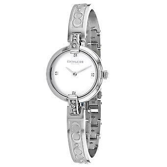 Coach Women's Chrystie White Dial Watch - 14503316