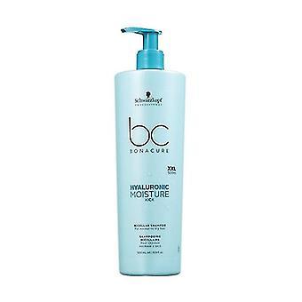 Bc hyal moist kick shampoo 500 ml of gel