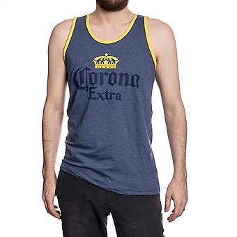 Corona Extra haalistunut sininen säiliön yläosa
