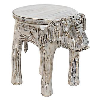 Boční stůl Dekodonia Mango dřevo Slon (37 x 51 x 46 cm)