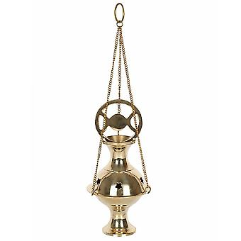 Something Different Metal Triple Moon Incense Holder
