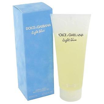 Lys blå Shower Gel af Dolce & Gabbana 6,7 oz Shower Gel