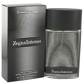 Zegna Intenso Eau De Toilette Spray By Ermenegildo Zegna 3.4 oz Eau De Toilette Spray
