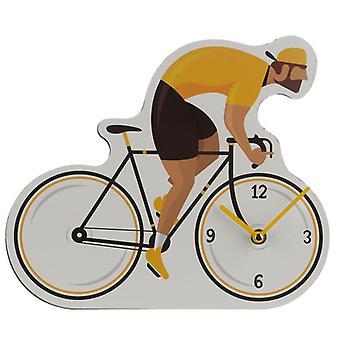 Horloge murale décorative de travaux de cycle de bicyclette