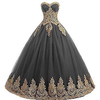 Sparkle Crystal Tulle Floor-length Dress (set 2)