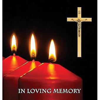 In Loving Memory Funeral Guest Book - Memorial Guest Book - Condolenc