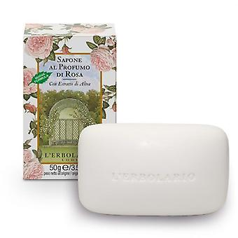 L'Erbolario Jabón Perfumado Rose 100 gr