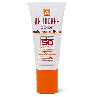 Heliocare SPF 50+ Color Light Cream Gel 50 ml