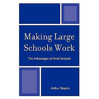 Grote scholen laten werken De voordelen van kleine scholen