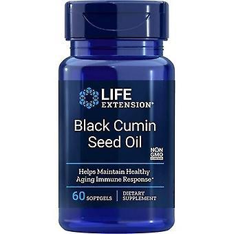 Estensione vita Olio di semi di cumino nero Softgels 60