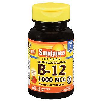 Sundance b-12, 1000 mcg, fast dissolve tablets, 60 ea