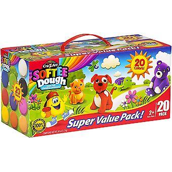 Car-z-art - softee dough super value pack