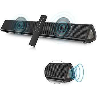 FengChun Mini Soundbar PC Lautsprecher Bluetooth 5.0 Tragbare 15.8 Zoll Koaxial/USB/AUX Anschlüsse