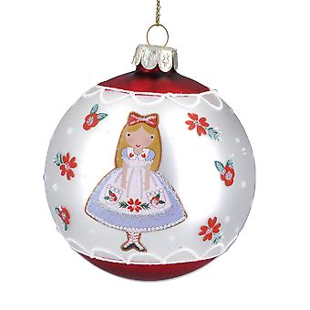 Gisela Graham Alice in Wonderland Bauble
