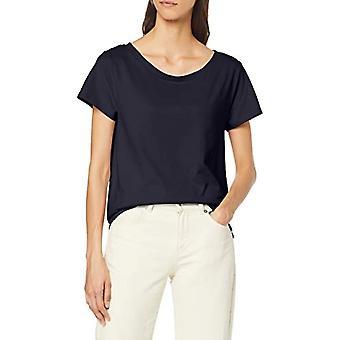 ESPRIT 089ee1k018 T-Shirt, Blauw (Navy 400), Small Woman