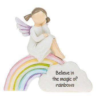Duhoví andělé věří magii