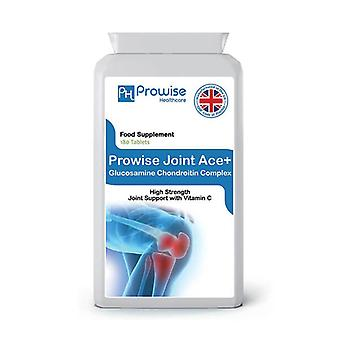 Joint Ace+ Glucosamine Chondrotin Complex 500mg / 400mg with Vitamin C | Made In UK by Prowise